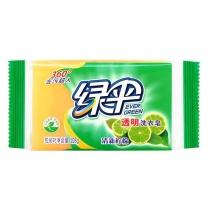 绿伞 EverGreen 透明洗衣皂 108g  72块/箱