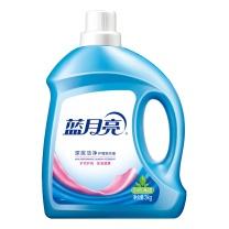 蓝月亮 bluemoon 深层洁净护理洗衣液 3kg  4瓶/箱 (自然清香)