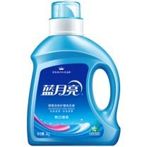 蓝月亮 bluemoon 亮白增艳洗衣液 自然香 3kg  4瓶/箱