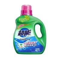 超能 洁净柔护洗衣液 1kg  自然清香