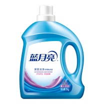 蓝月亮 bluemoon 深层洁净护理洗衣液 3kg/瓶  4瓶/箱 (薰衣草)