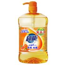 超能 西柚祛腥 洗洁精 1500g  6瓶/箱