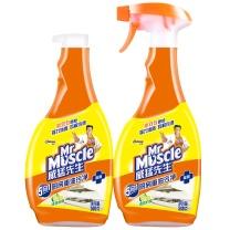 威猛先生 Mr Muscle 厨房重油污净 500g/瓶  2瓶/组 12组/箱 (柠檬味)