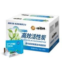 快活林 高效活性炭 装修竹炭除甲醛 2000g