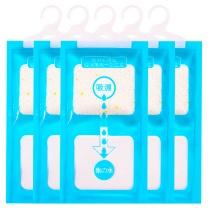 粉兰之家 可挂式除湿袋 衣橱衣柜除湿剂防潮剂 230g*5袋