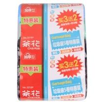 茶花 CHAHUA 垃圾袋 3215P 5卷  45*55