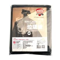 科力普 COLIPU 加厚型垃圾袋 100cm*120cm (黑色) 10只/包 50包/箱
