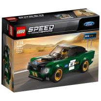 乐高 LEGO 1968款福特野马 75884 超级赛车系列