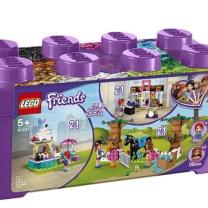 乐高 LEGO 心湖城积木盒