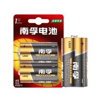 南孚 NANFU 碱性电池 1号  2节/卡