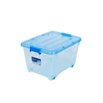 茶花 CHAHUA 透明塑料收纳箱 2825 55L
