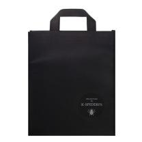 国产无纺布袋 礼品购物袋 40*32*10cm (红色)