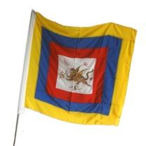 飞虎旗 服装戏剧舞台演出旗帜道具用品士兵旗