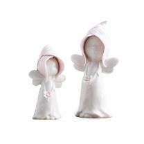 米子家居 MIZ 陶瓷花瓶+姐妹摆件套装