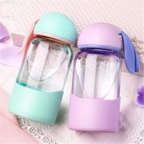国产 小兔子水杯 300ml  材质:玻璃