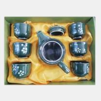 国产传统茶具套装 PC-109 一壶六杯