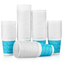 得力 deli 一次性纸杯 9561 9盎司 250ml (蓝色) 100只/包 20包/箱