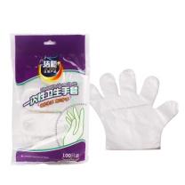 洁能 一次性手套 JN227 80.00g  100只/包