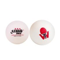 红双喜 DHS 赛顶三星乒乓球 D40+ 6只装 (白色)