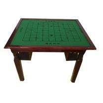 国产 松木双面棋牌桌麻将桌 80*80*76cm