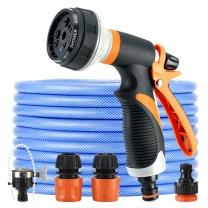 车旅伴 多功能TPR高压洗车水枪  (含20米水管)
