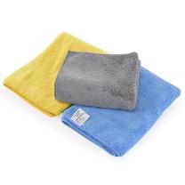车旅伴 双面加厚超细纤维洗车毛巾 HQ-QX055 70*30cm  3条/组