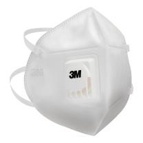 3M PM2.5青少年颗粒物防护口罩M 9560V (白) 3只/包 (带阀)