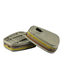 3M 有机蒸气无机酸性气体硫化氢滤毒盒 6057 2个/包