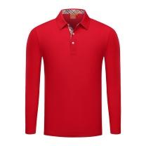 笙谷 针织T恤衫 1869# (大红)