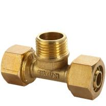 薇凡 4分外丝三通 (1216)498 铝塑管配件