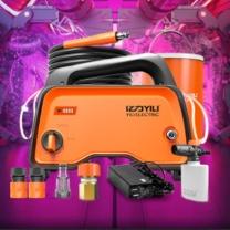 亿力 洗车机 YLQ4740D-B 个 (橙色) 家用充电锂电洗车机 高压清洗机水枪YLQ4740D-B