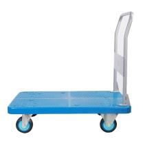 连和 单层超静折叠扶手手推车 PLA200-DX (蓝色)