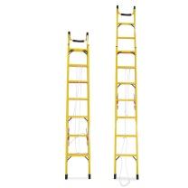 理联 绝缘单面伸缩梯 LN-JS40 折叠2米伸4米