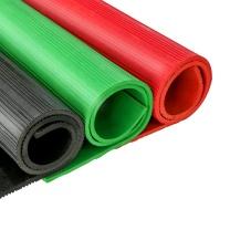 朗固 防护垫 C21002002 (红绿黑) 20KV,1M*1M/块,厚度:8mm;,红色防护垫