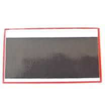 安赛瑞 货架物料信息磁性卡套(10个装)红色 ABS塑料材质 13382 A10 45×80mm
