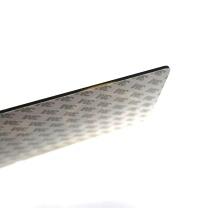安赛瑞 亚克力标识牌(请随手关门) 35419 26×12cm 厚度3mm 3M背胶 (蓝白)