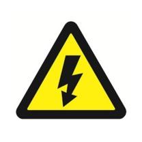 安赛瑞 GB安全标牌(当心触电)警示标识牌 安全标志 30701 250×315mm 3M不干胶