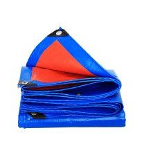安赛瑞 加厚防雨布 PE材质 12441 2×3m (蓝桔)