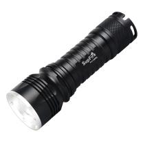 神火 SupFire 强光手电筒 F11-T(XPE) 3W变焦  含26650电池/电池座充