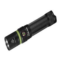 Fenix菲尼克斯 2017款USB充电便携多用途全能型强光手电筒 UC30 1000流明 (黑色) (套装,无需购买电池与充电器)