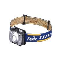Fenix菲尼克斯 高性能便携头灯双AA电池工作头灯 HL30 300流明 (灰色) (套装,无需购买电池与充电器)