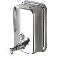 古润 洗手液盒 500ML (银色) 304不锈钢