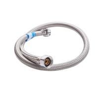 日丰 304不锈钢金属编织软管 4分 双头 F管-单根150CM