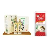 中秋大礼包 C型 (2)  山茶油精制礼盒、中粮香雪筋爽饺子粉1kg
