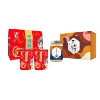 中秋大礼包 C型 (3)  孟蕾枣夹核桃B、首农双桥农场花的盛宴蜂蜜礼盒A款750g