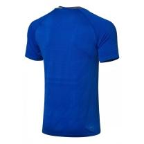 李宁 LI-NING 运动短袖套装 AAYP025 XL码 ((蓝色上衣+黑色裤子))