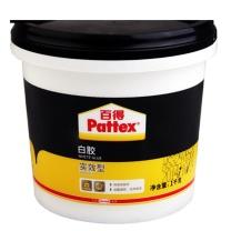 汉高百得 Pattex 白胶 木工白胶 白乳胶 手工胶 粘接力好 成膜透明 实效型 PXWG1SD 1kg