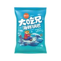 粮悦 大吃兄海鲜糯米锅巴 60g/袋