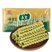 众望 麻花 (海苔咸味) 312g/袋  20袋/箱
