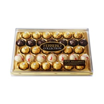 费列罗 费列罗臻品巧克力糖果礼盒 32粒/盒  4盒/箱